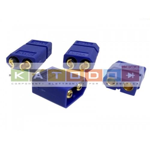Kit 3+3 pcs XT60 BLUE Connecter Male / Female - XT-60 XT 60 for RC Lipo Battery ( 3 pair )