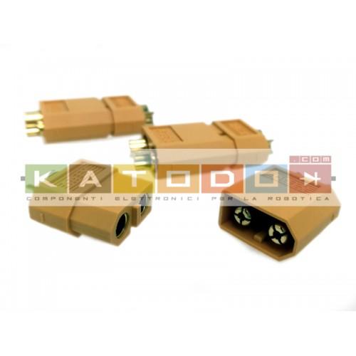 Kit 3+3 pcs XT60 Yellow Connecter Male / Female - XT-60 XT 60 for RC Lipo Battery ( 3 pair )