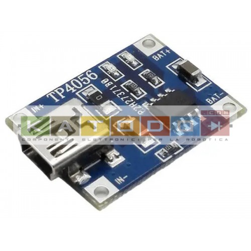 Mini USB - Lithium Battery Charging - TP4056 - 5V 1A - Protection Circuit