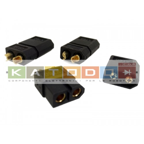 Kit 3+3 pcs XT60 BLACK...