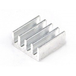 ( 4 pcs ) Dissipatore in alluminio A4988 Heatsink 11 x 11 x 5 mm