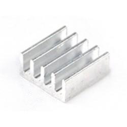 ( 4 pcs ) Dissipatore in alluminio A4988 Heatsink 11 x 11 x 5 mm