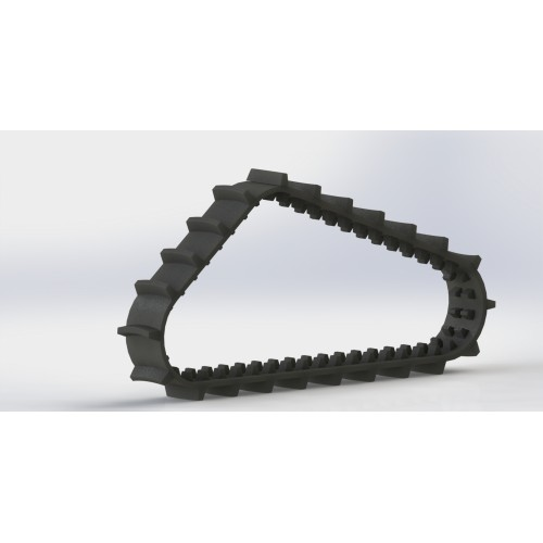 Lightweight Rubber Track 930x50mm