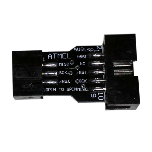 10.9031.0010 - 10 to 6 Pin Adapter for ATMEL AVRISP USBASP STK500