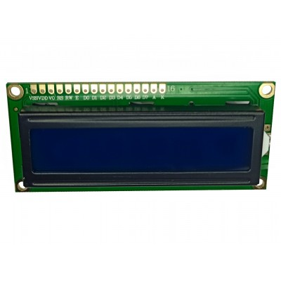 LCD 1602A Module - Front view Side