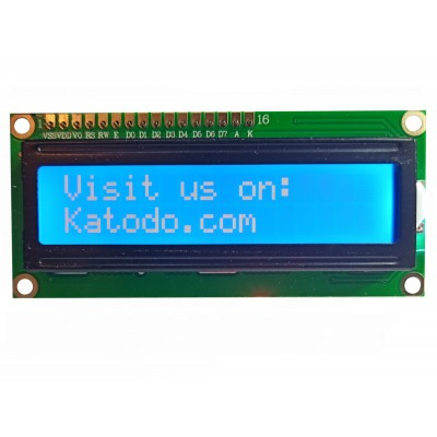 LCD 1602A Module - Front view