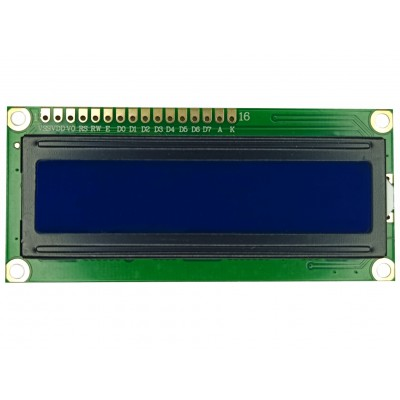 LCD 1602A Module - Front view OFF