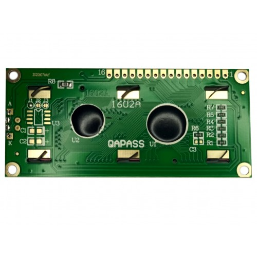 LCD 1602A Module - Back view