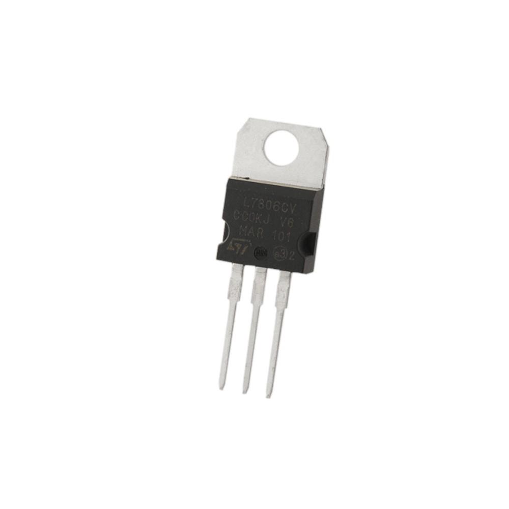 ( 5 pcs ) L7806CV REG 6V TO220 ST