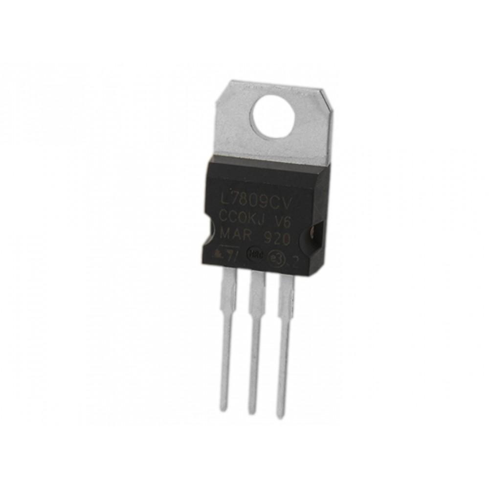( 5 pcs ) L7809CV REG 9V TO220 ST